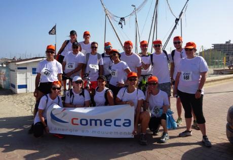 Course solidaire, COMECA répond présent