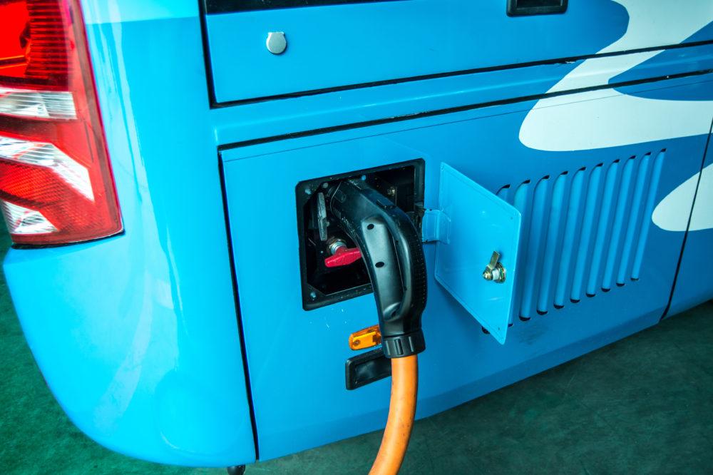 recharge bus électrique