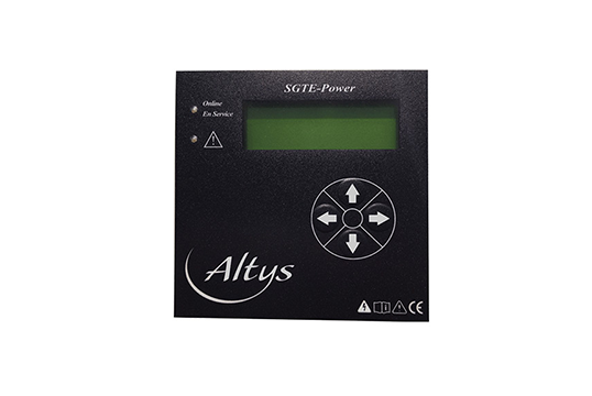 Ecran ALTYS chargeur de batteries by Comeca