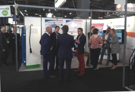 Comeca exhibits at the 2018 Public Transport Exhibition in Paris