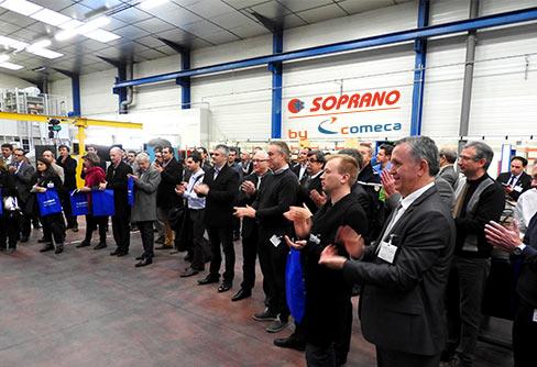 SOPRANO by COMECA inaugurates its new premises