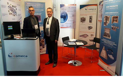 COMECA Power, SOPRANO by COMECA and COMECA Transport share common booth at SIFER exhibition