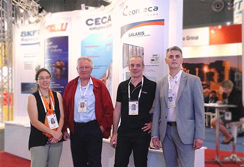 COMECA at LNG18 exhibition in Australia