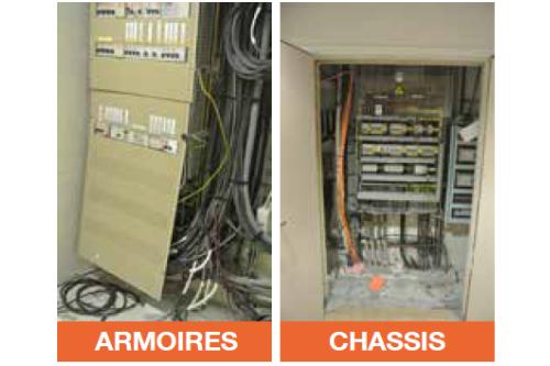 Comparatif armoire et chassis evobloc
