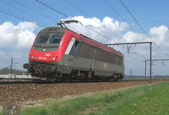 locomotives BB36000 et BB27000