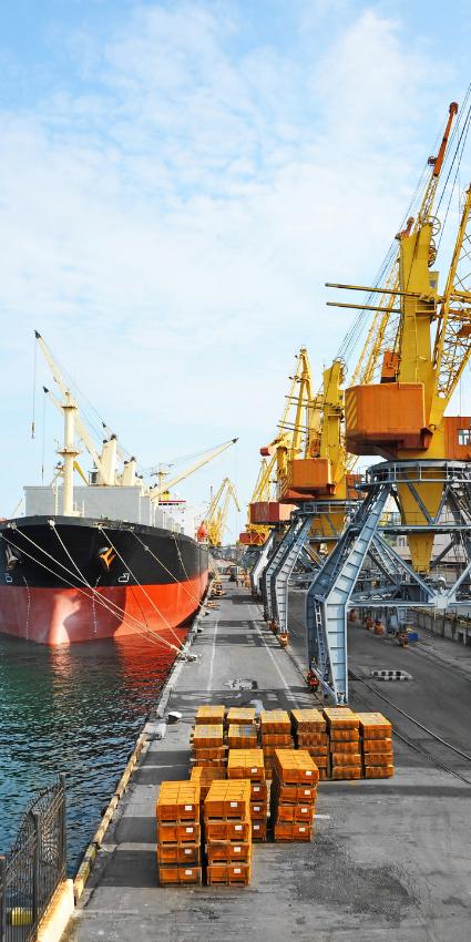 décarbonation des ports alimentation à quai